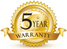 Many of our covers are covered by a 5 Year Limited Warranty.