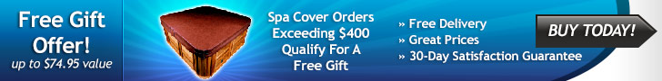 Free Gift with $400 spa cover purchase
