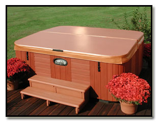 Thermal Guardian spa covers are the best looking hot tub cover that you can buy