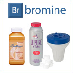 Bromine spa care