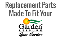 Replacement Covers and Filters For Garden Leisure Spas