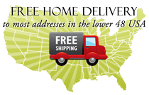 Free Shipping to most addresses in the lower 48 United States