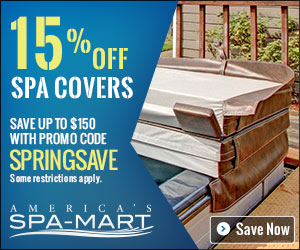 15% off All Spa Covers with coupon code SPRINGSAVE